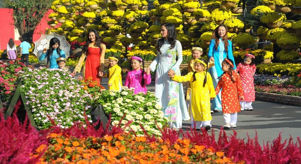 Lễ hội hoa ngày tết