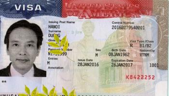 Visa nhập cảnh Mỹ