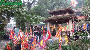 Hà Nội - Đền Đuổm - Đền Cô Thắm - Chùa Cao Kỳ - Thác Giềng