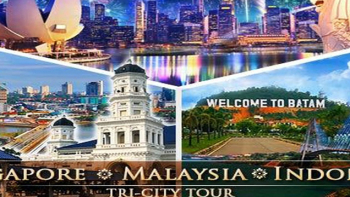 Du lịch Malaysia - Singapore - Indonesia