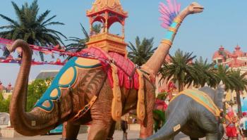 Nam Ninh - Công viên khủng long - Thanh Tú Sơn
