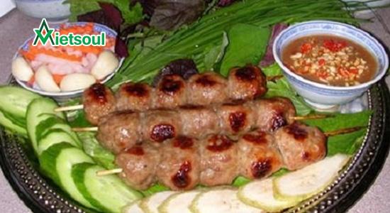 nem nướng NInh Hòa ở Nha Trang