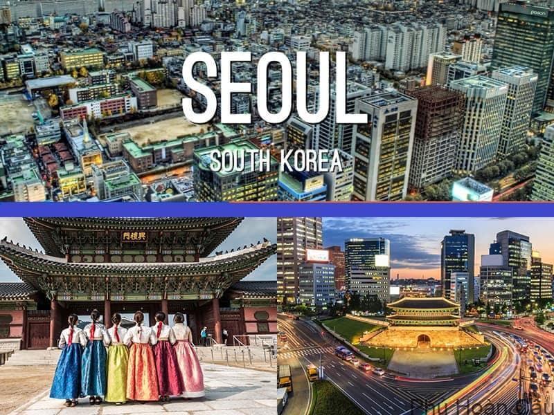 Kết quả hình ảnh cho thủ đô seoul của hàn quốc
