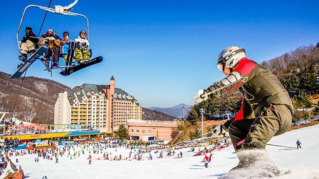 TOUR TRƯỢT TUYẾT MÙA ĐÔNG HÀN QUỐC: SEOUL - NAMI - LOTTE WORLD
