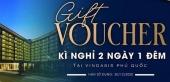 Voucher 2n1d Vinoasis Phú Quốc giá 1.800k/ 1 voucher