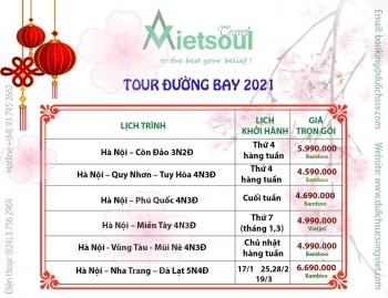 Bảng giá tour tết âm lịch 2021
