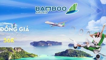 Khuyến mãi vé 36đ từ Bamboo airway